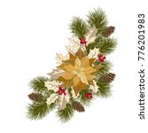 christmas decorations with... | Shutterstock .eps vector #776201983