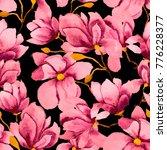 watercolor seamless pattern...   Shutterstock . vector #776228377