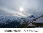 panoramic views onto the swiss... | Shutterstock . vector #776240767