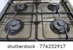 a nice gas range that makes... | Shutterstock . vector #776252917