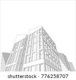 city  3d illustration   Shutterstock .eps vector #776258707