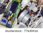 various rejected  broken spare... | Shutterstock . vector #77630416