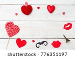 pictures for st. valentine's... | Shutterstock . vector #776351197