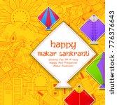 illustration of happy makar... | Shutterstock .eps vector #776376643