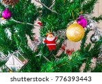 the decoration of christmas... | Shutterstock . vector #776393443