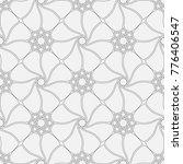 vector seamless pattern. modern ... | Shutterstock .eps vector #776406547