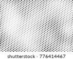 modern halftone background.... | Shutterstock .eps vector #776414467