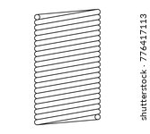 coil spring steel spring  metal ... | Shutterstock .eps vector #776417113