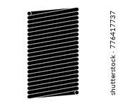 coil spring steel spring  metal ... | Shutterstock .eps vector #776417737