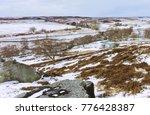 Goathland  Yorkshire  Uk. Snow...