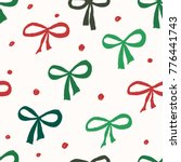 christmas seamless repeat... | Shutterstock .eps vector #776441743