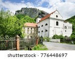 famous baroque church and...   Shutterstock . vector #776448697