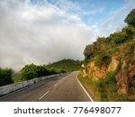 morning trail run scene   Shutterstock . vector #776498077