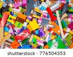 childrens designer background | Shutterstock . vector #776504353