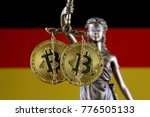 symbol of law and justice ... | Shutterstock . vector #776505133
