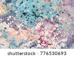 abstract composition for design ... | Shutterstock . vector #776530693