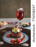 exquisite restaurant mousse... | Shutterstock . vector #776538247