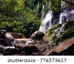 cacalotenango waterfall near... | Shutterstock . vector #776573617