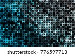 light blue vector red pattern...   Shutterstock .eps vector #776597713