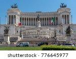 rome  italy   june 23  2017 ...   Shutterstock . vector #776645977