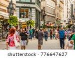 budapest  hungary   september... | Shutterstock . vector #776647627