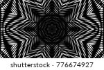 abstract black white metallic... | Shutterstock . vector #776674927