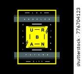 los angeles urban typography...   Shutterstock .eps vector #776704123