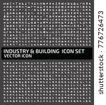 industry and building icon set... | Shutterstock .eps vector #776726473