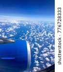flying in the sky above the...   Shutterstock . vector #776728333