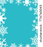 snowflakes vector illustration | Shutterstock .eps vector #776760043