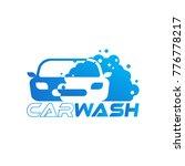 car wash logo designs | Shutterstock .eps vector #776778217