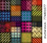 seamless background. geometric... | Shutterstock .eps vector #776801077