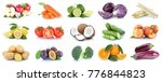 fruits and vegetables... | Shutterstock . vector #776844823
