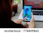 chiang mai thailand   dec 08 ... | Shutterstock . vector #776849863