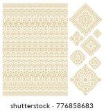 set of decorative elements... | Shutterstock .eps vector #776858683