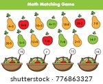 math educational game for... | Shutterstock .eps vector #776863327
