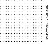 grunge halftone black and white ... | Shutterstock .eps vector #776885587