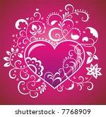 valentine s day. | Shutterstock . vector #7768909