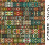 colorful vintage seamless... | Shutterstock .eps vector #776905477