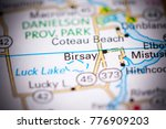 birsay. canada on a map. | Shutterstock . vector #776909203