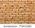 old brick wall texture... | Shutterstock . vector #776913283