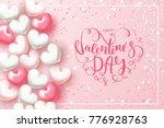 festive card for happy... | Shutterstock .eps vector #776928763