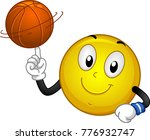 illustration of a smiley mascot ... | Shutterstock .eps vector #776932747