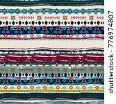 ethnic. boho seamless pattern.... | Shutterstock . vector #776974807
