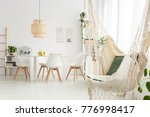 hammock with pillows and... | Shutterstock . vector #776998417