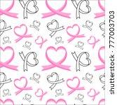 vector seamless pattern of... | Shutterstock .eps vector #777003703