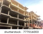 building construction site | Shutterstock . vector #777016003