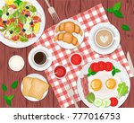 vector illustration of healthy...   Shutterstock .eps vector #777016753