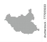 pixel map of south sudan....