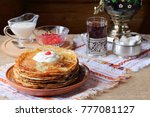 A Stack Of Pancakes. A Stack O...